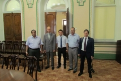 Expedition participants in SamSU Rectorate