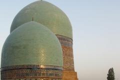 Registan. Madrasah domes