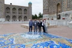 Print of the Registan mosaic_1