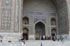 Print of the Registan mosaic_2