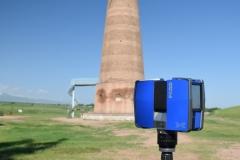 The tower-minaret of Burana